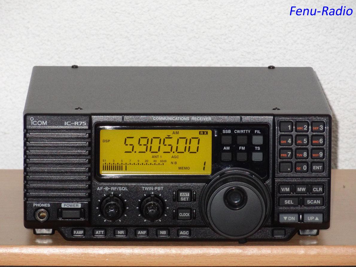 Fenu-Radio - Icom IC-R75