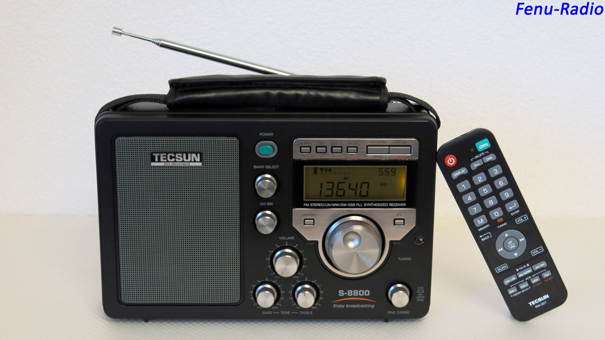 Fenu-Radio - Tecsun S8800e